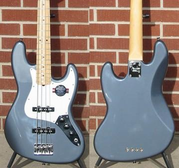 Mostre o mais belo Jazz Bass que você já viu - Página 7 FenderregAmericanStandardJazzBassregCharcoalFrostMetallicMapleneck3-plyWhitepg4-StringElectricBass_zpsbd2e06fc