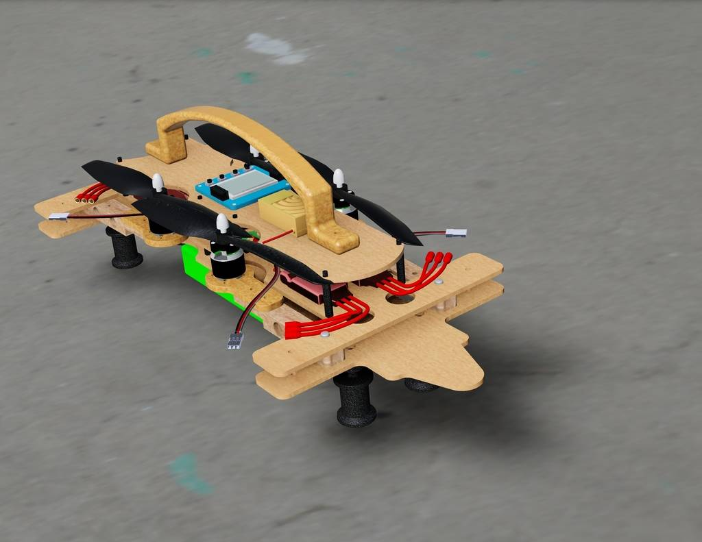 Suit  case Drone Take it on the road Folded%20on%20ground_zpseqw6x3tx