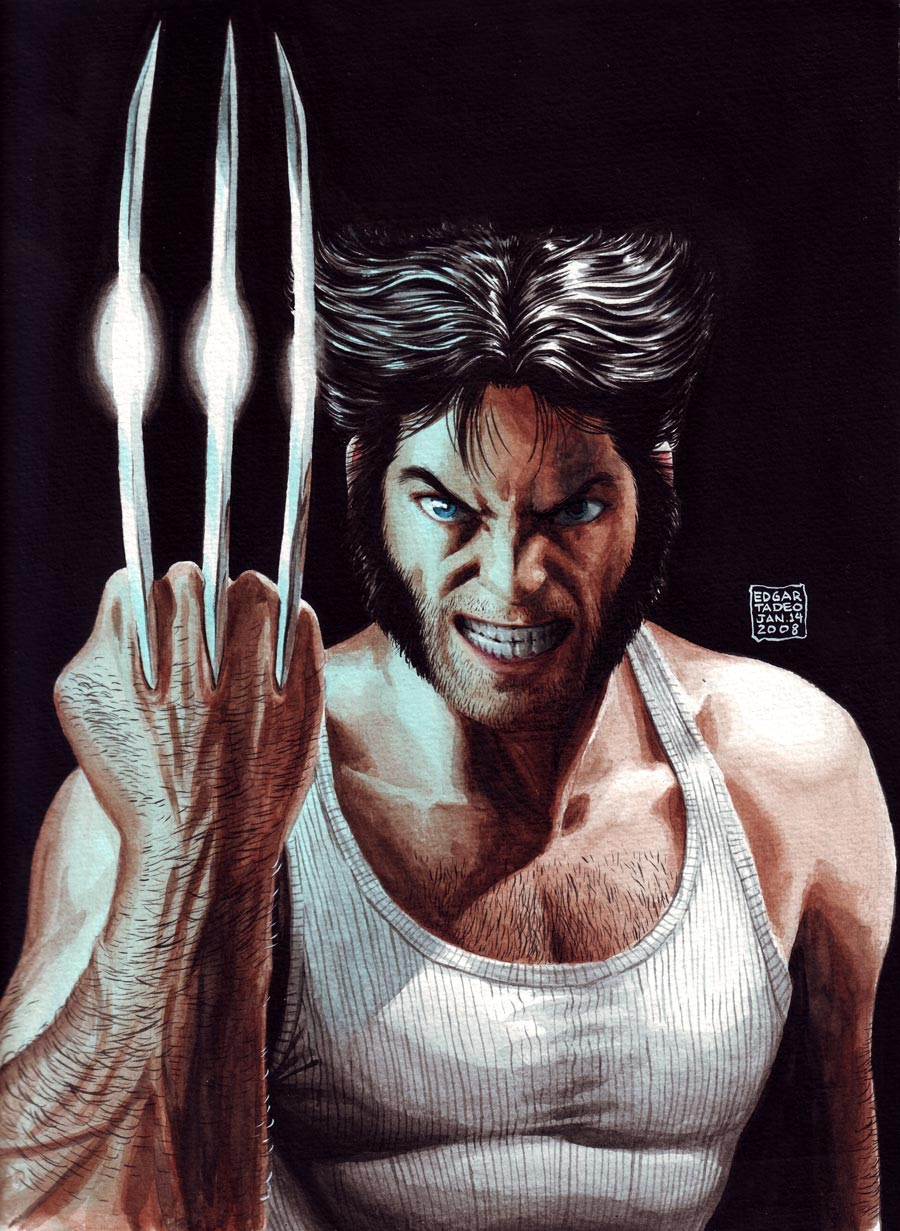 Part 14 / 6 Wolverine-painting900