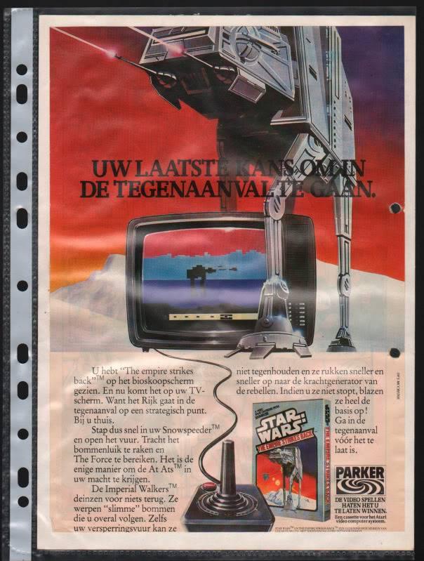vintage belgium/netherlands ads (clipper,...) Atari-esb