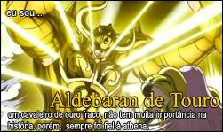 Quem é você nos cavaleiros do zodiaco? Aldebaran
