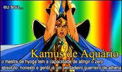 Quem é você nos cavaleiros do zodiaco? Kamus