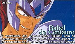 Quem é você nos cavaleiros do zodiaco? Babel01