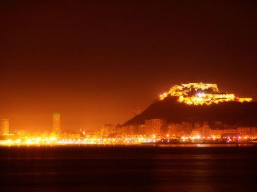 Imágenes - Página 5 Alicante-vista-castillo-noche