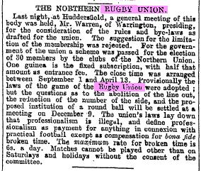 Le schisme de 1895 NorthernUnionadopted