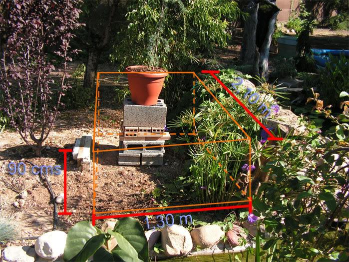 Jardinera sobreelevada: Jardineracedro2