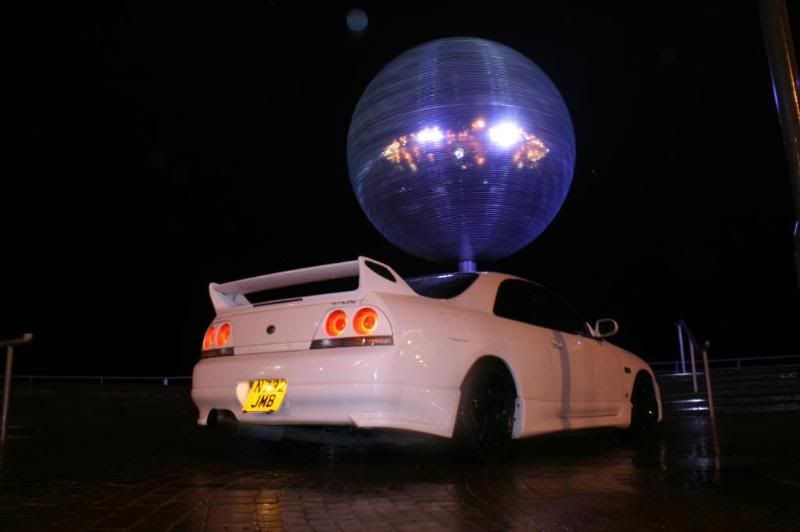 the skyline gtst  better pics ** Blackpool043