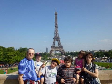 Paris,La Bastille,Tour Eiffel,Champs de Mars P1010209