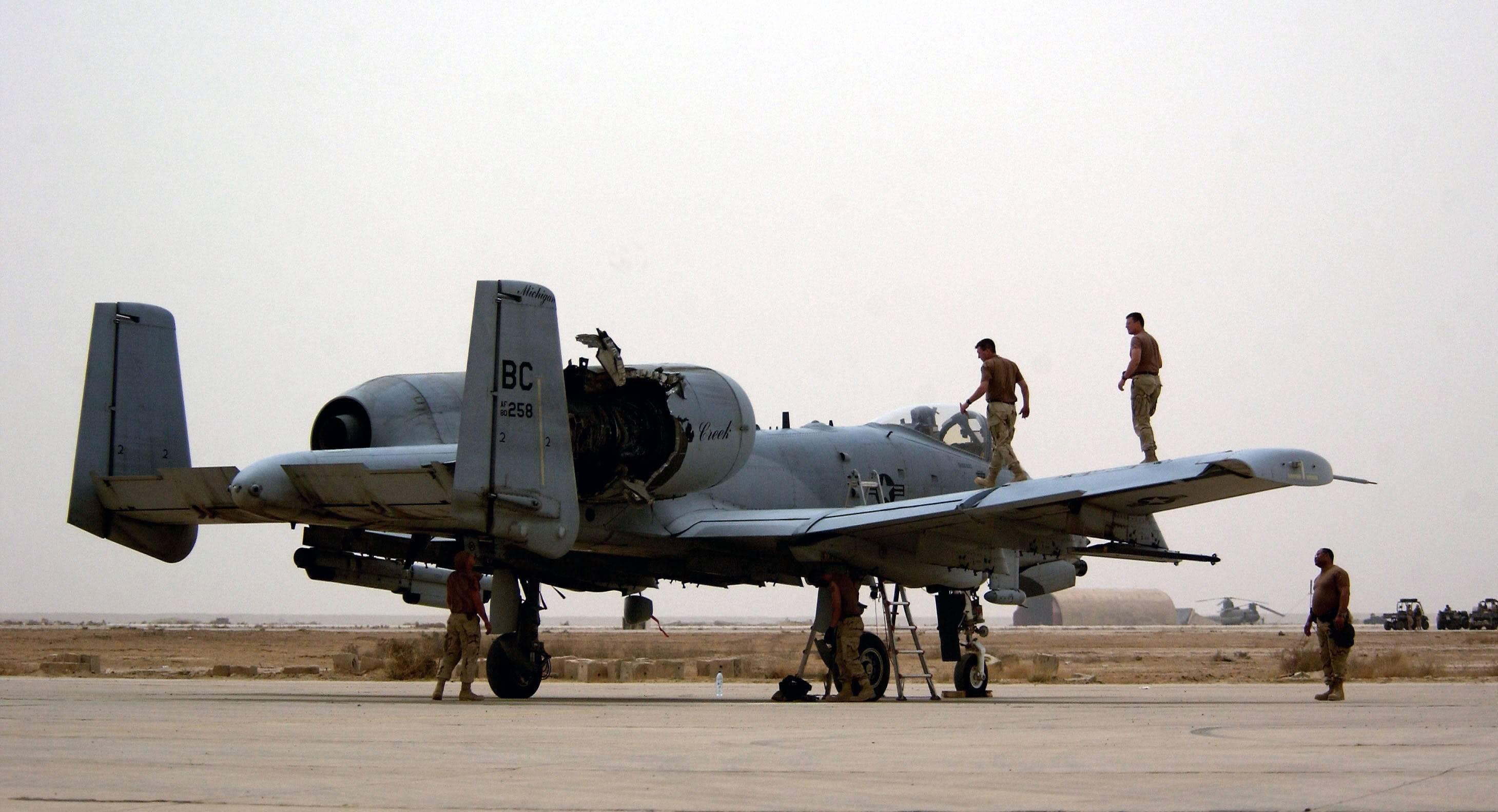 Fairchild A10C Thunderbolt II - Page 2 030408-F-2034C-018