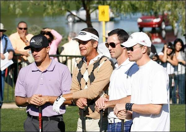 Chad Michael Murray-Lucas Scott Golf9