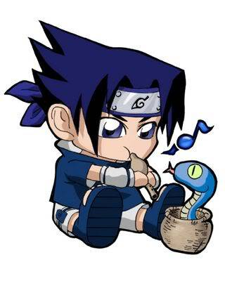 Thumbs up/thumbs down Sasuke