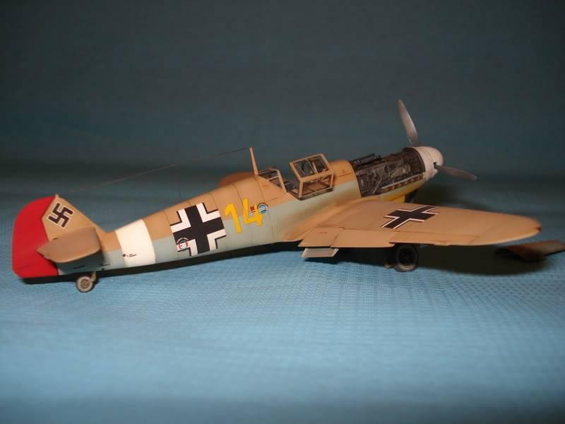 BF-109F-4 Fine Molds 1/72 DSC01685