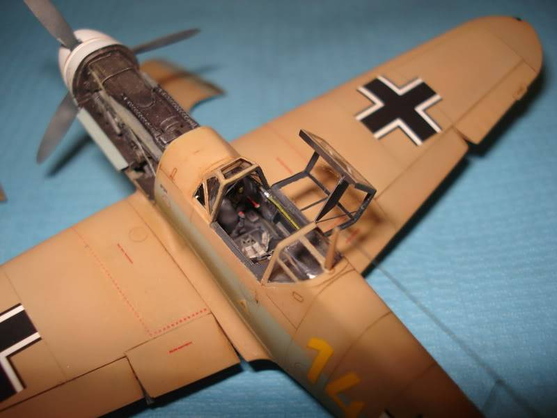 BF-109F-4 Fine Molds 1/72 DSC01687