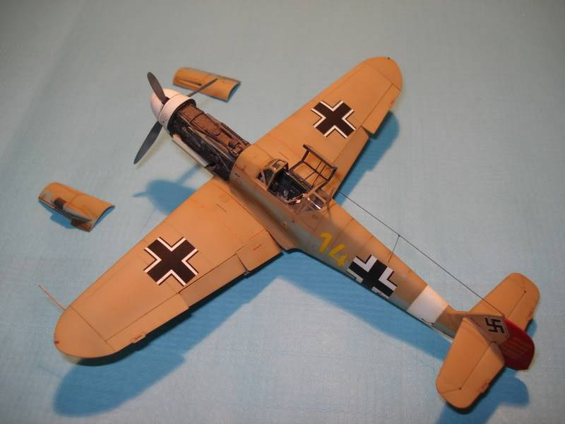 BF-109F-4 Fine Molds 1/72 DSC01689