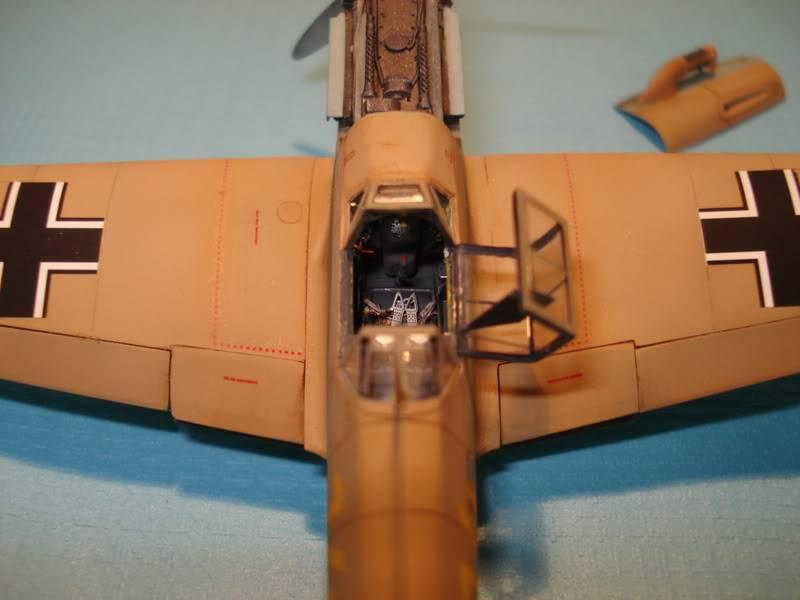 BF-109F-4 Fine Molds 1/72 DSC01699