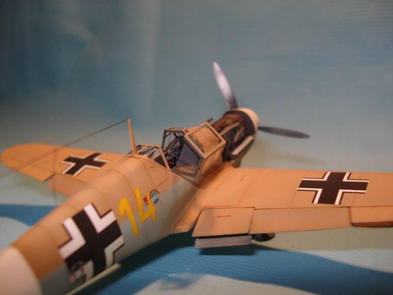 BF-109F-4 Fine Molds 1/72 DSC01704