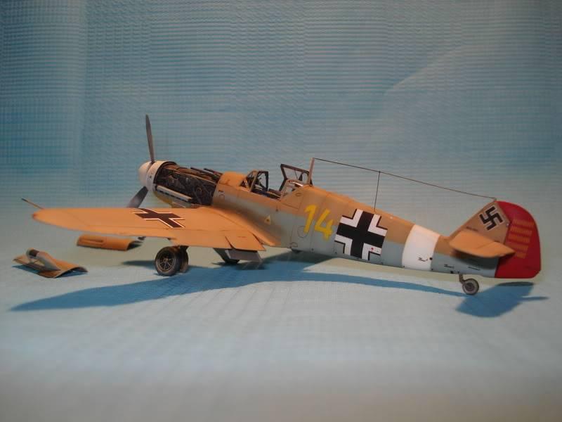 BF-109F-4 Fine Molds 1/72 DSC01706
