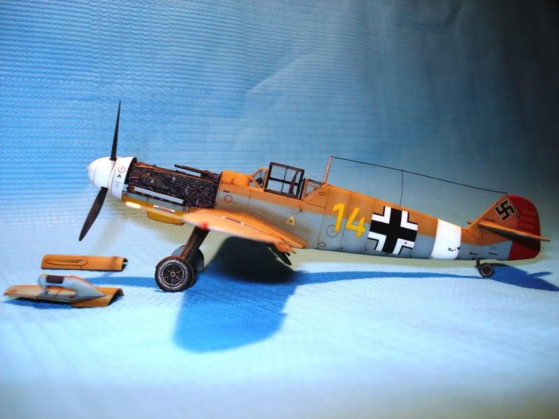 BF-109F-4 Fine Molds 1/72 DSC01707
