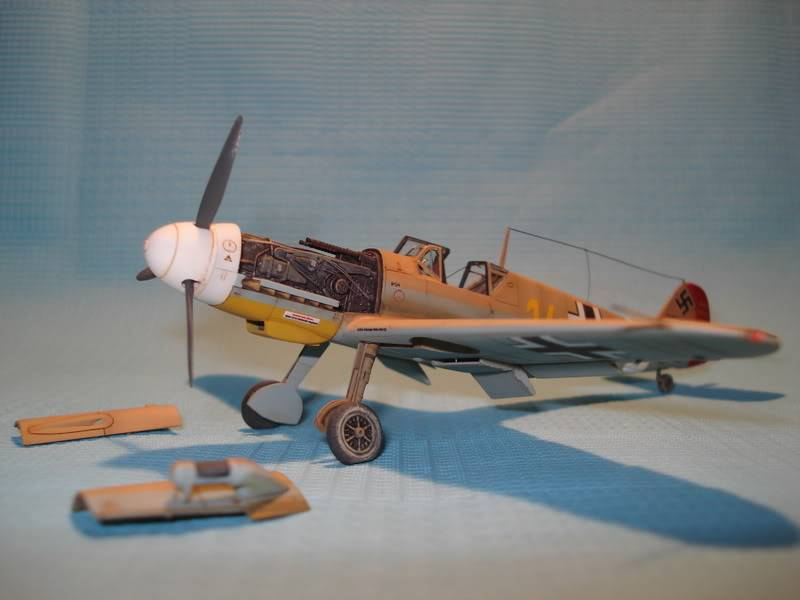 BF-109F-4 Fine Molds 1/72 DSC01709