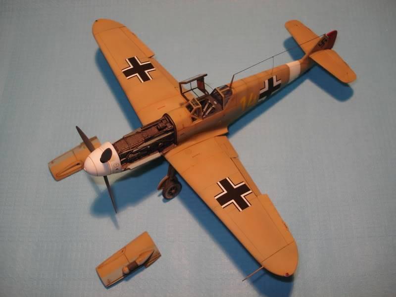 BF-109F-4 Fine Molds 1/72 DSC01711