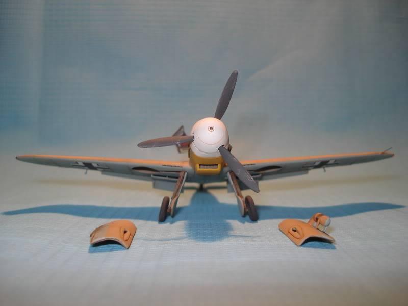 BF-109F-4 Fine Molds 1/72 DSC01712