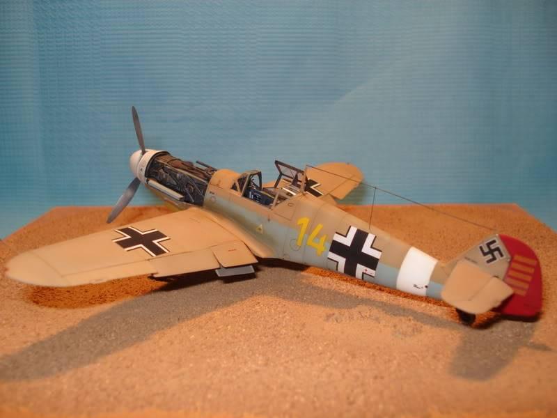 BF-109F-4 Fine Molds 1/72 DSC01719