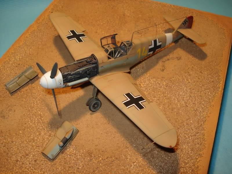 BF-109F-4 Fine Molds 1/72 DSC01720