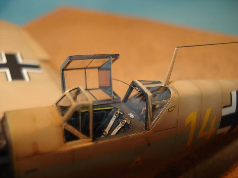 BF-109F-4 Fine Molds 1/72 DSC01722