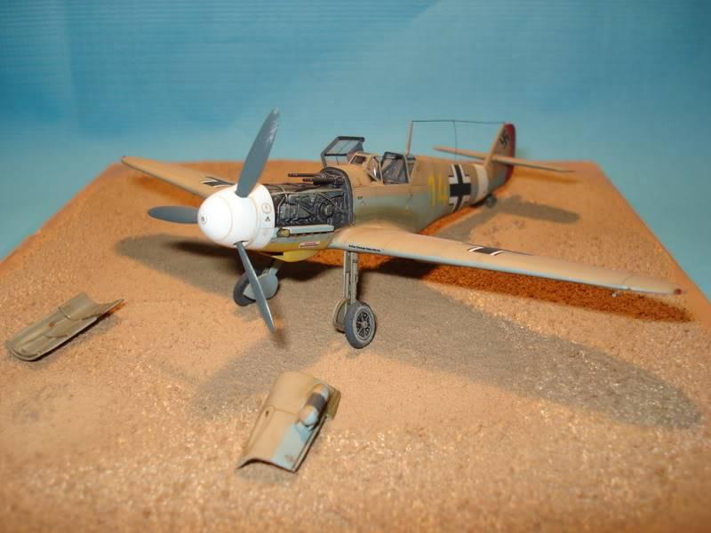 BF-109F-4 Fine Molds 1/72 DSC01723