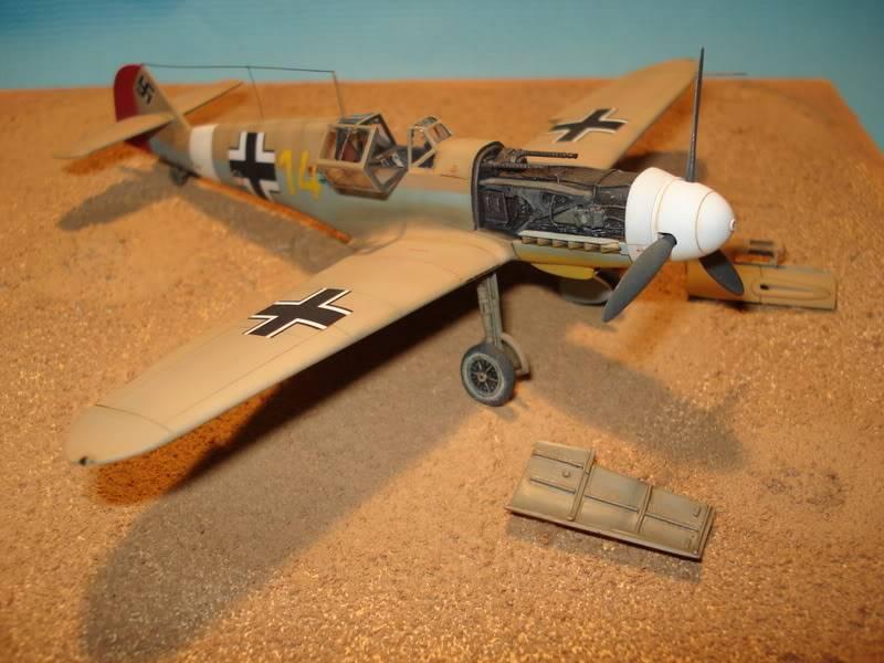BF-109F-4 Fine Molds 1/72 DSC01725