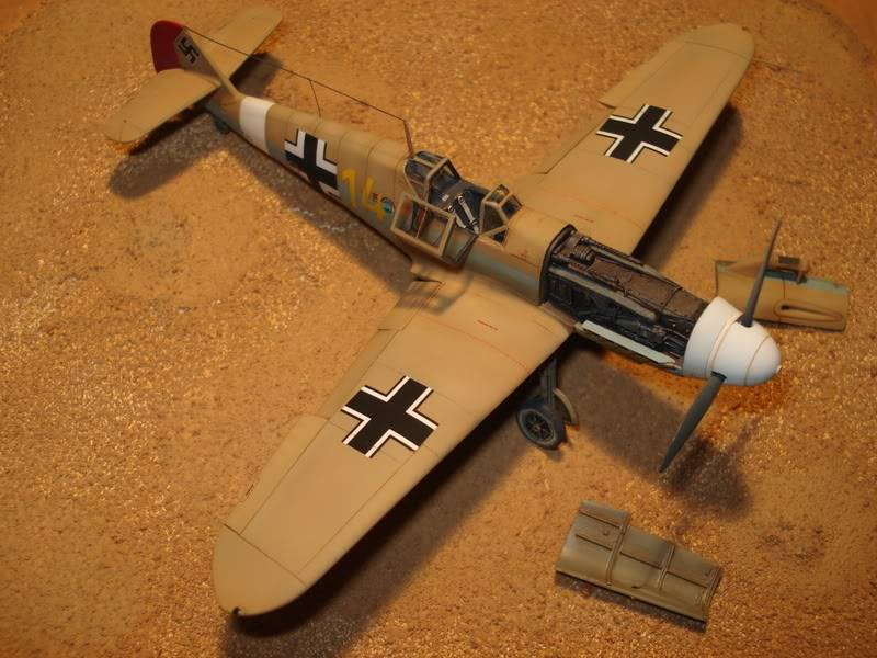BF-109F-4 Fine Molds 1/72 DSC01728