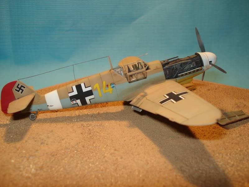 BF-109F-4 Fine Molds 1/72 DSC01730