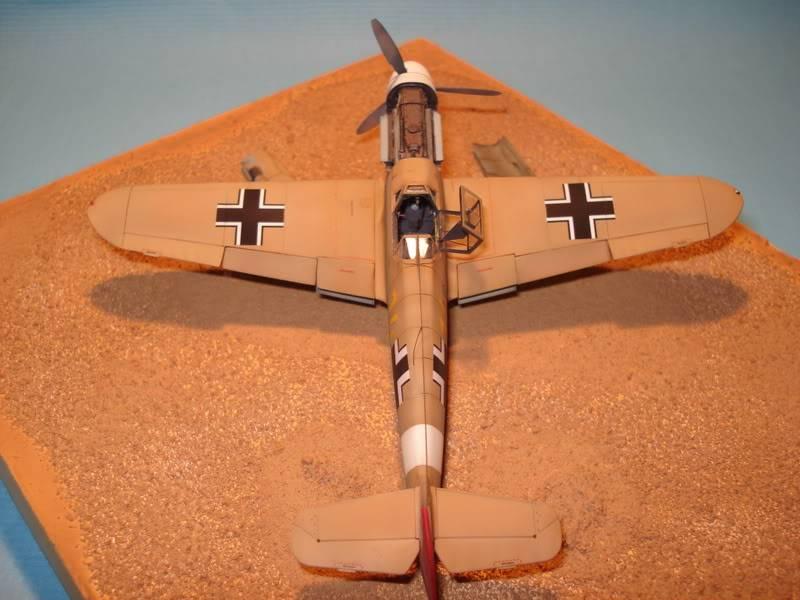 BF-109F-4 Fine Molds 1/72 DSC01733
