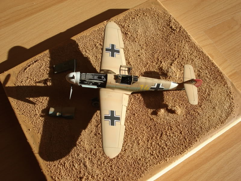 BF-109F-4 Fine Molds 1/72 DSC01780