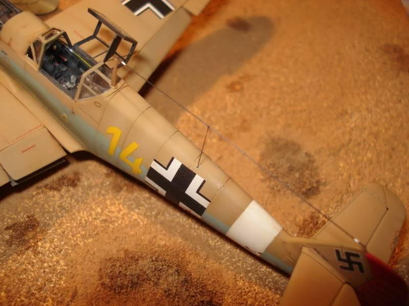 BF-109F-4 Fine Molds 1/72 DSC01844