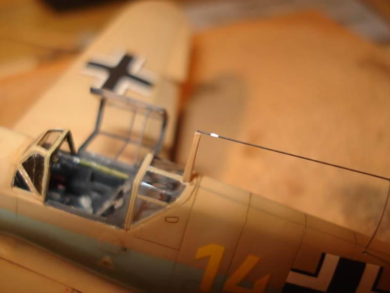 BF-109F-4 Fine Molds 1/72 DSC01846