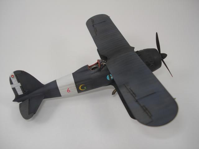 FIAT CR-42 CN - Matchbox (ex-revell) 1/72 DSC06428