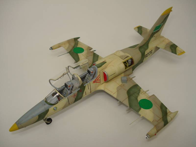 L-39 Albatros Libian air force - Eduard 1/72 DSC07262