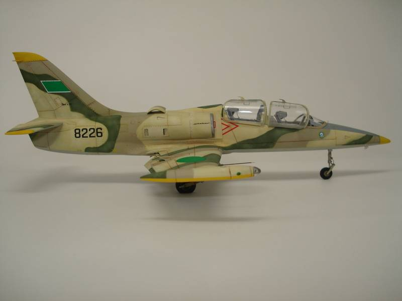 L-39 Albatros Libian air force - Eduard 1/72 DSC07276