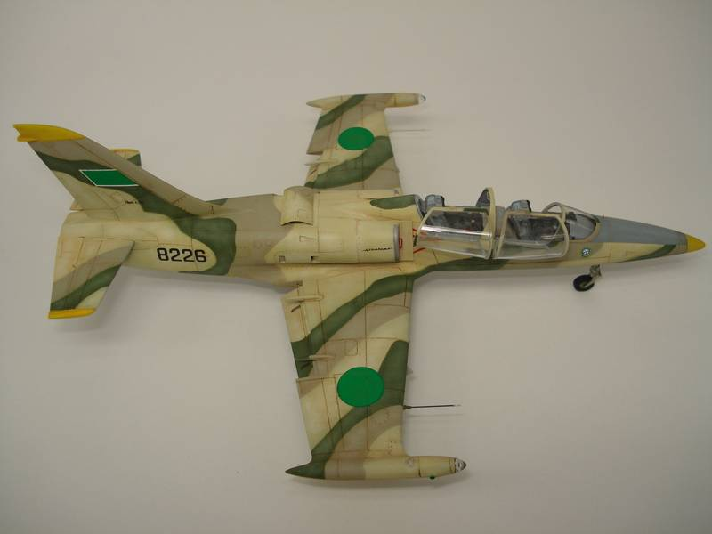 L-39 Albatros Libian air force - Eduard 1/72 DSC07277