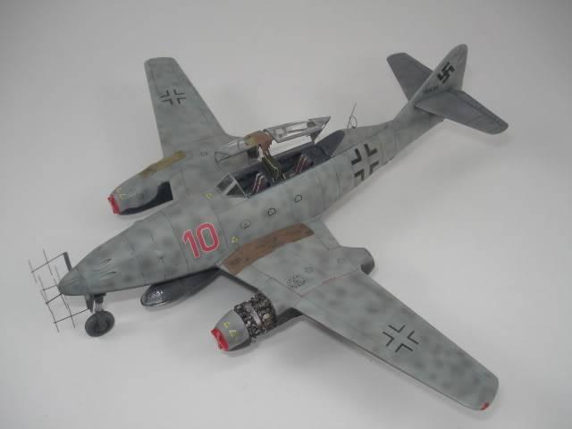 ME-262B hasegawa 1/72 DSC06867