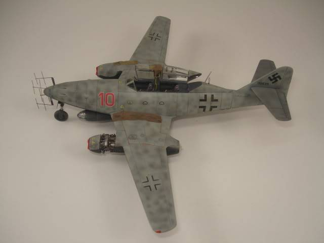 ME-262B hasegawa 1/72 DSC06871