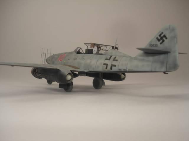 ME-262B hasegawa 1/72 DSC06874