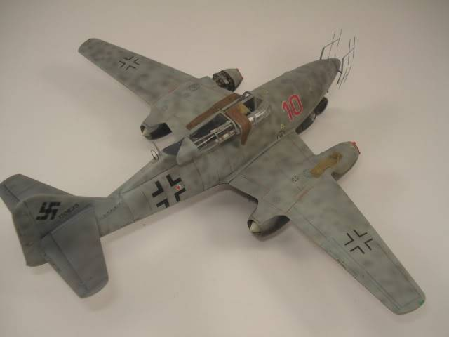 ME-262B hasegawa 1/72 DSC06876