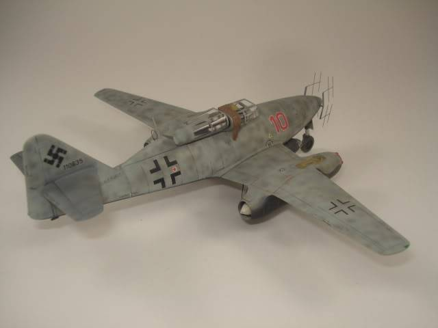 ME-262B hasegawa 1/72 DSC06877