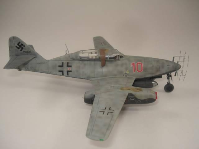 ME-262B hasegawa 1/72 DSC06878
