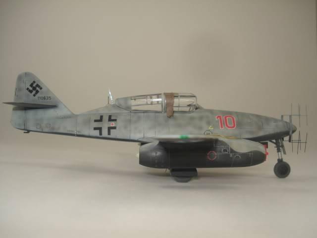 ME-262B hasegawa 1/72 DSC06880