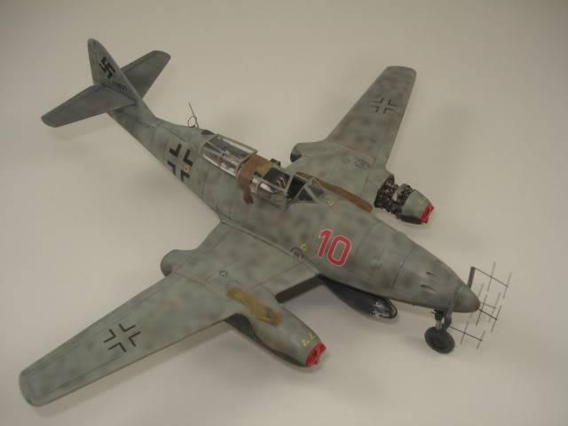 ME-262B hasegawa 1/72 DSC06881