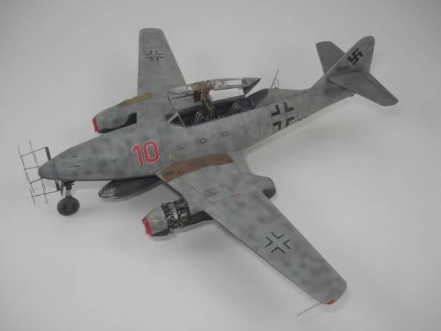 ME-262B hasegawa 1/72 DSC06882