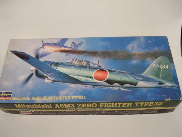 Hasegawa - A6M3 Zero Type 32 - 1/72 - Atualizado em 09-05-2012. DSC04853